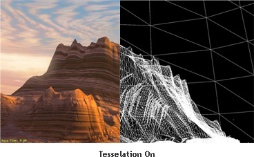Tessellation ON