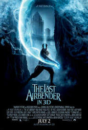 The Last Airbender in 3D' promotional poster